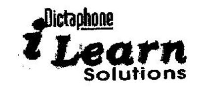DICTAPHONE ILEARN SOLUTIONS