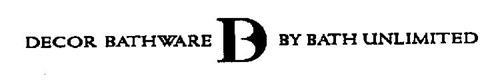 DECOR BATHWARE DB BY BATH UNLIMITED