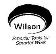 WILSON SMARTER TOOLS FOR SMARTER WORK