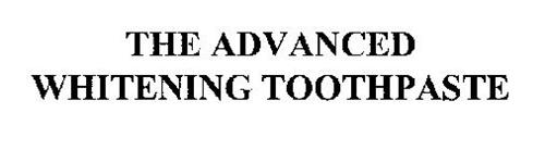THE ADVANCED WHITENING TOOTHPASTE
