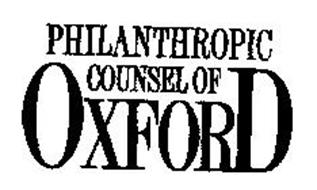 PHILANTHROPIC COUNSEL OF OXFORD