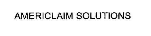 AMERICLAIM SOLUTIONS
