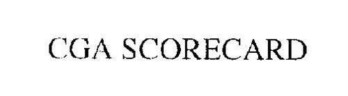 CGA SCORECARD