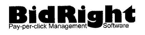 BIDRIGHT PAY-PER-CLICK MANAGEMENT SOFTWARE