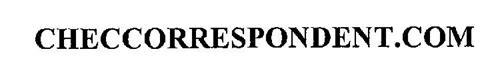 CHECCORRESPONDENT.COM