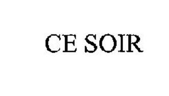 CE SOIR