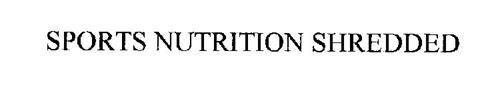 SPORTS NUTRITION SHREDDED