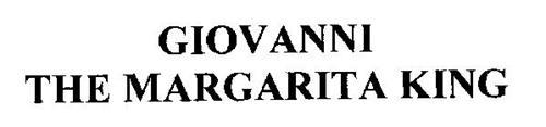 GIOVANNI THE MARGARITA KING
