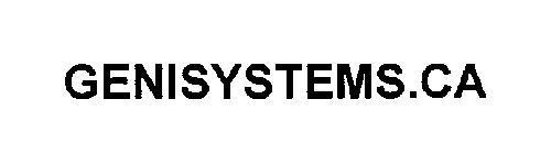 GENISYSTEMS.CA