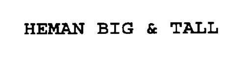 HEMAN BIG & TALL