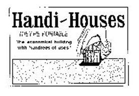 HANDI-HOUSES THEY'RE PORTABLE
