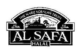 THE NAME YOU CAN TRUST AL SAFA HALAL