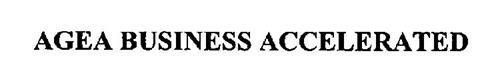 AGEA BUSINESS ACCELERATED