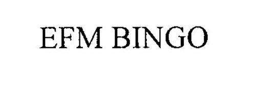 EFM BINGO