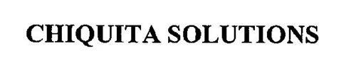 CHIQUITA SOLUTIONS