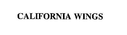 CALIFORNIA WINGS