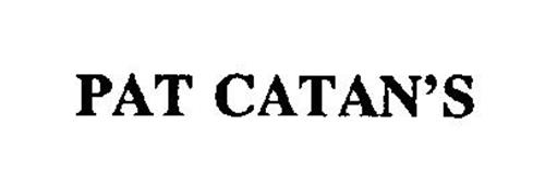 PAT CATAN'S
