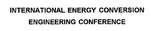 INTERNATIONAL ENERGY CONVERSION ENGINEERING CONFERENCE