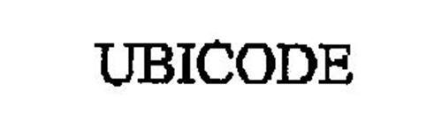 UBICODE