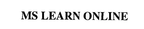 MS LEARN ONLINE