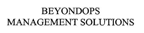 BEYONDOPS MANAGEMENT SOLUTIONS