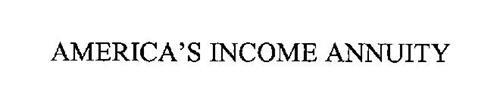 AMERICA'S INCOME ANNUITY