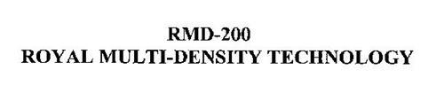 RMD-200 ROYAL MULTI-DENSITY TECHNOLOGY