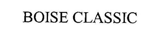 BOISE CLASSIC