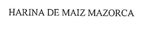 HARINA DE MAIZ MAZORCA