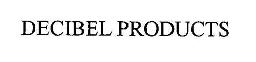 DECIBEL PRODUCTS