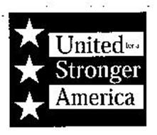 UNITED FOR A STRONGER AMERICA