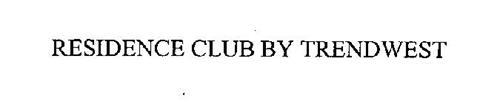 RESIDENCE CLUB BY TRENDWEST
