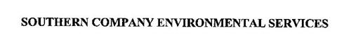 SOUTHERN COMPANY ENVIRONMENTAL SERVICES