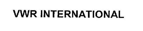 VWR INTERNATIONAL