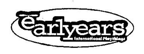 EARLYEARS INTERNATIONAL PLAYTHINGS
