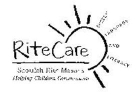 RITECARE SCOTTISH RITE MASONS HELPING CHILDREN COMMUNICATE SPEECH LANGUAGE AND LITERACY