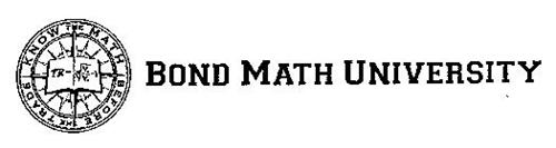 KNOW THE MATH BEFORE THE TRADE BOND MATH UNIVERSITY TR