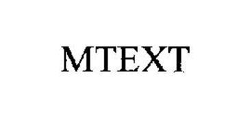 MTEXT