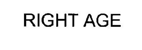 RIGHT AGE