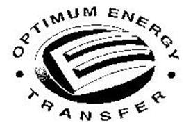 OPTIMUM ENERGY TRANSFER