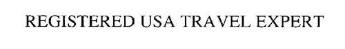 REGISTERED USA TRAVEL EXPERT