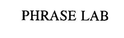 PHRASE LAB