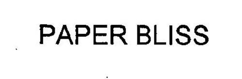PAPER BLISS