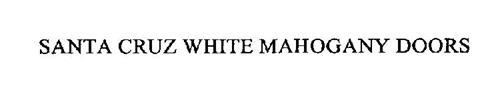 SANTA CRUZ WHITE MAHOGANY DOORS
