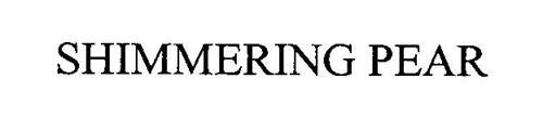SHIMMERING PEAR