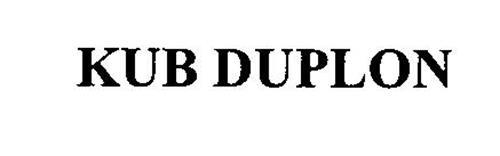 KUB DUPLON