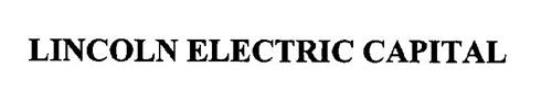 LINCOLN ELECTRIC CAPITAL
