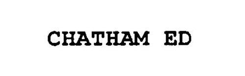 CHATHAM ED