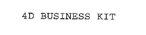 4D BUSINESS KIT