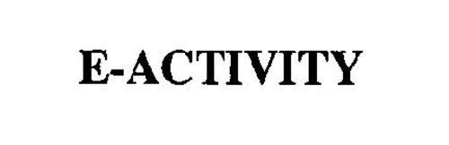 E-ACTIVITY